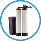 Twin Rotating Water Softeners